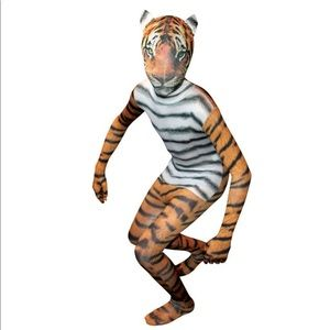 Morphsuits tiger child's onesie